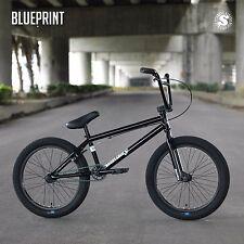 "2018 SUNDAY BIKE BMX BLUEPRINT 20"" BLACK BICYCLE 20.5"" Toptube FIT CULT KINK"