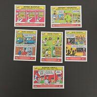 2006 Bazooka Comics 7 Card Lot Greg Maddux + More