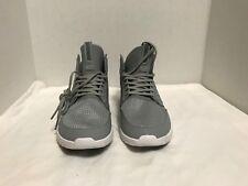 Supra 'Method' Athletic Mid Top Trainer Sneaker Light Grey-White 08022-013-M