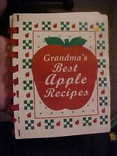 1997 COOK Booklet GRANDMA'S BEST APPLE RECIPES by Henry, Osburn, & Knode
