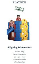AMPI Toys ! Aussie Made! Tough Kids Outdoor Play Gym with Slide