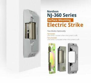 Electric Door Gate Strike Surface Mount 001 Type Locks 12VDC Outdoor Use