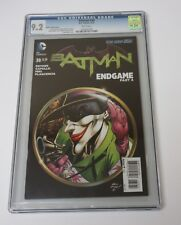 Batman 38 CGC 9.2 DC Comics Joker cover Limited Edition  2015
