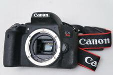 Canon EOS Rebel T7i 24.2 MP Digital SLR Camera - Black (Body Only)
