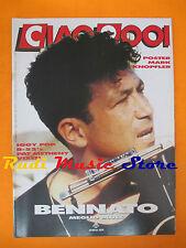 rivista CIAO 2001 36/1990 POSTER Mark Knopfler Iggy Pop Bennato Vixen * No cd