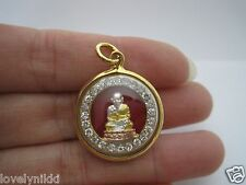NEW GOLE PLATED PHRA LP TUAD WAT CHANGHAI BUDDHA THAI AMULET PENDANT