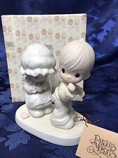 """Precious Moments """"Sew In Love"""" Figurine #106844"""