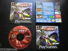 JEU Sony PLAYSTATION PS1 PS2 : RE-VOLT (courses COMPLET envoi suivi)