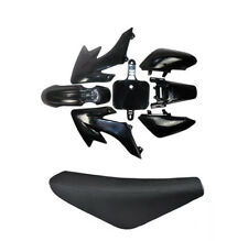 CRF50 Black Plastics Fairing Seat Pit Dirt Bike THUMPSTAR ATOMIK 70/90/110/125CC