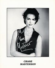 OFFICIAL WEBSITE Chase Masterson as Leeta STAR TREK DS9 8x10 AUTOGRAPHED