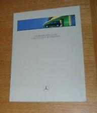 Mercedes G Class - G Wagon Brochure 1998 G500 G320 G300D - English