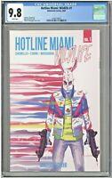 Hotline Miami Wildlife #1 CGC 9.8 1st First Print Edition Behemoth Comics 2020