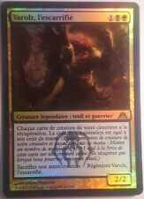 Varolz l'Escarrifié VF FOIL / PREMIUM - French The Scar-Striped  - Magic mtg -