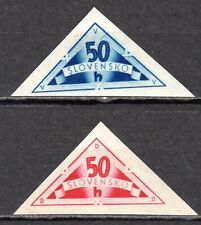 Slovakia - 1940 Personal delivery stamps - Mi. 79-80 MH