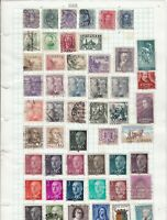 spain stamps ref 12071