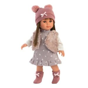 Llorens Sara Hearts 35cm Soft Bodied Doll