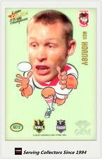 2008 Select NRL Champions Superstar Acetate Gem Card GC12 Ben Hornby