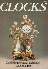 CLOCKS MAGAZINE (July 1981)- EIGHT-DAY BRACKET CLOCKS - KREMSMUNSTER - NUMBERING