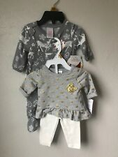 New Born 2 Pieces Lot Carter's Outfit, North Pole Pj's