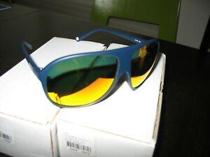 POC DiD Sunglasses - New- Nickel Blue/Californium Blue -Brown/Red mirror lens
