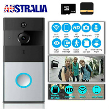 Smart WiFi Video Doorbell Camera Wireless Remote Door Bell CCTV Chime Phone APP