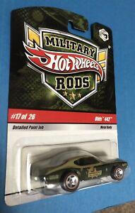 military rods Hot Wheels Olds 442, short run #17 of 26, 2008 2009 not Silverado