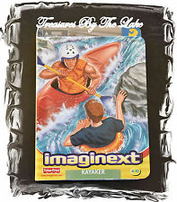 Imaginext Action Figure Kayaker Kayak Rescue New in Box NIB