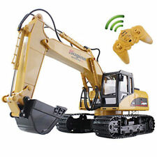 Remote Control Excavator RC Tractor Bulldozer Crawler Truck Toy Digger Car 15CH
