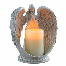 "New Beautiful 9"" Flameless Candle Angel Light Lamp Candle holder 31-01070-01"