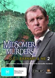 Midsomer Murders - D.C.I. Barnaby & Me : Collection 2 (DVD, 2009, 3-Disc Set)-R4