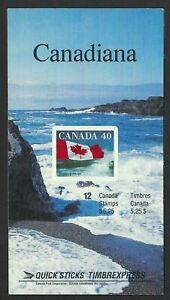 Canada Booklet BK127e Flag MNH Open