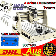 USB 4 Axis 3040 Fresadora CNC Enrutador Grabado Máquina de Grabado 400 W