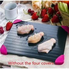 Bandeja de descongelación rápida rápido deshielo Placa Board para descongelar carne de metal para alimentos congelados