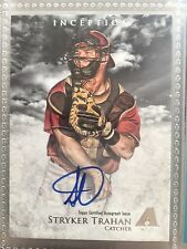 2013 Bowman Inception Prospect Autographs #PA-ST Stryker Trahan Auto Rookie Card
