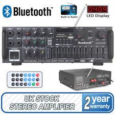 2000W Verstärker Stereo Amplifier HIFI Digital Bluetooth FM USB Vollverstärker
