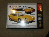 AMT Studebaker Avanti 50th Anniversary Model Car Kit Sealed AMT780/12