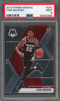 Cam Reddish Atlanta Hawks 2019 Panini Mosaic Rookie Card RC #241 PSA 9 MINT