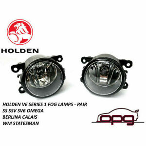 Genuine Holden Fog Lamps / Driving Lamps for WM WN Statesman Caprice Pair
