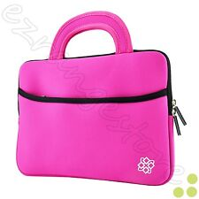 """Slim 10"""" Inch Sleeve Carrying Case Cover Bag Handle for 10"""" - 10.1"""" Inch Tablet"""