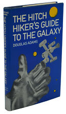 Hitch Hiker's Guide to the Galaxy DOUGLAS ADAMS ~ First Edition 1st Hitchhiker's
