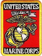 United States Marine Corps Rectangle USMC POW Military VET Biker Patch PAT-3551