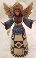 Jim Shore Heartwood Creek Angel Hanging Ornament C107462 Vg