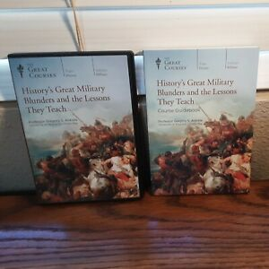 The Great Courses: History's Great Military Blunders 4-DVD's & Course Guidebook