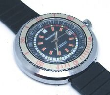 Vintage BIG 1970's Men's TOWNCRAFT DIVER Wrist Watch