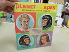 1974 Saalfield Planet of The Apes Softcover Picture Activity Album ~ Excellent!