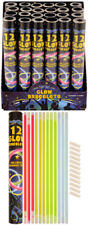 12 Glow Stick Bracelets - Raves Festivals Stag Hen Fancy Dress Parties