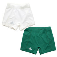 """Adidas 9682W Women's Techfit Climalite 4"""" Tight Volleyball Athletic Shorts"""