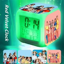 Summer Magic 7 Color Changing Clock Red Velvet With Date Thermometer ZNAOZ217