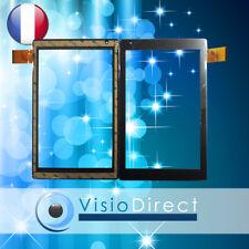 """Vitre ecran tactile pour Archos 101B Oxygen 10.1"""" HXD1076 V3.0 V4.0 gris noir"""