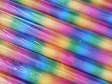 Arco Iris De Organza Voile Material Tela Theatre para niños 145 cm de ancho por metro